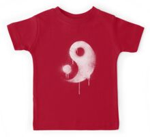 Graffiti Zen Master - Spray paint yin yang Kids Tee