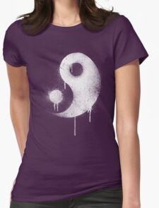Graffiti Zen Master - Spray paint yin yang Womens T-Shirt