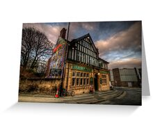 Old Silk Mill Greeting Card