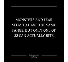Ministry of Monsters: A Message on Fear by zetalabs