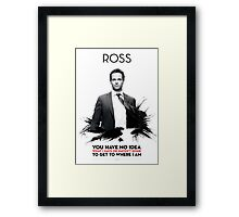 Awesome Series - Ross Framed Print