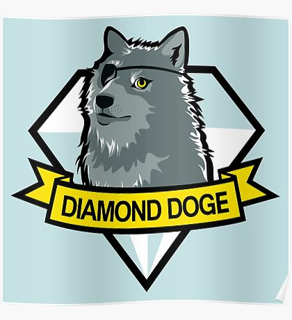Diamond Doge Poster