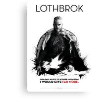 Awesome Series - Lothbrok Canvas Print