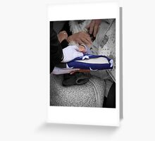 Hands Of Grief - A Patriot Goodbye Greeting Card
