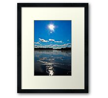 Beautiful day in Schaumburg, IL  Framed Print