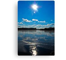 Beautiful day in Schaumburg, IL  Canvas Print