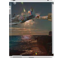 Fly past portland bill iPad Case/Skin