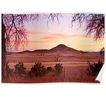 Haystack Mountain - Boulder County Colorado - Sunset Evening Poster