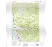 USGS Topo Map Washington Kalama 241725 1953 24000 Poster