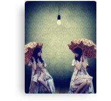 Facing Your Fears... Canvas Print