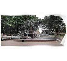 Sydney's Hyde Park Fountain 2 Poster