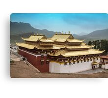 Langmusi temple  Sichuan, China  Canvas Print