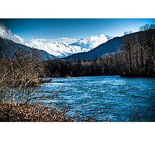 Skagit River, WA Photographic Print
