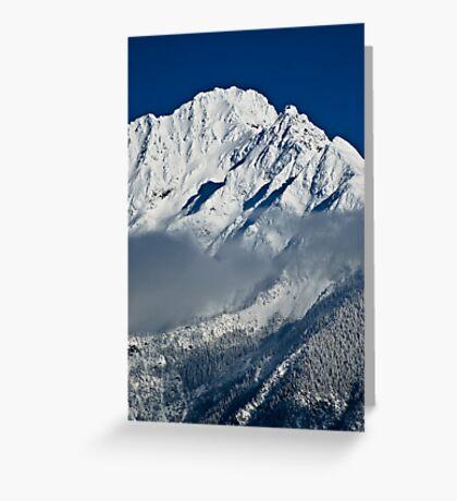 Mountain-WA Greeting Card
