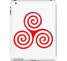 Triple Spiral iPad Case/Skin