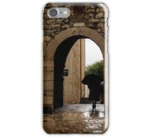 Rainy Day in Provence, France iPhone Case/Skin