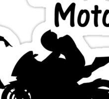 Girlfriend vs Motorcycle Sticker