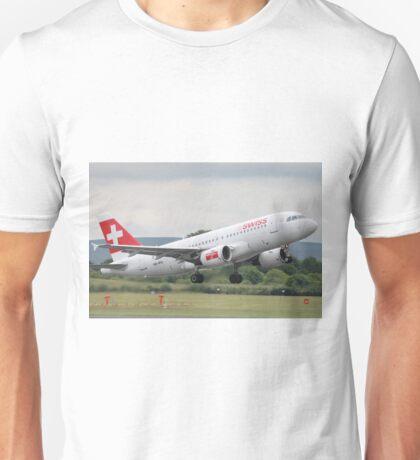 HB-IPU A319 Swiss Unisex T-Shirt