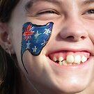 Proud Aussie Girl by Bernie Stronner