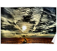 Apocalyptic sky  Poster