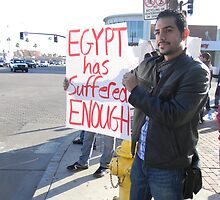 """""""Egypt Has Suffered Enough"""" by Leyla Hur"""