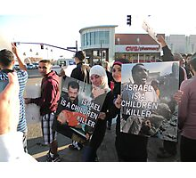 """""""Israel Is A Child Killer"""" Photographic Print"""