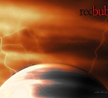Red Bubble Storm © Vicki Ferrari Photography by Vicki Ferrari
