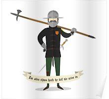 Medieval mercenary 1 Poster