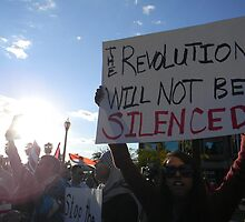 """The Revolution Will Not Be Silenced""  by Leyla Hur"