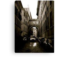 One Way Street Canvas Print