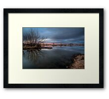 Gloom with a Hint of Color Framed Print