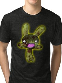 Tombie the Zombie Bunny Tri-blend T-Shirt