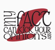 My Fact Can Kick Your Opinion's Ass! by MStyborski