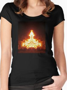 Igniting states of peace and harmony Women's Fitted Scoop T-Shirt