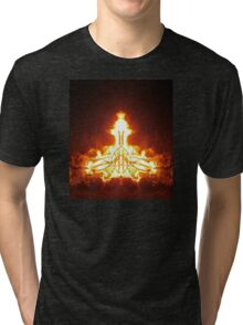 Igniting states of peace and harmony Tri-blend T-Shirt