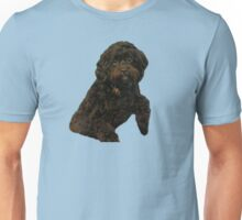 Cute and Curly Shoodle Puppy Unisex T-Shirt