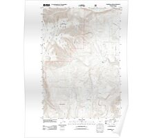 USGS Topo Map Oregon Partridge Creek 20110816 TM Poster