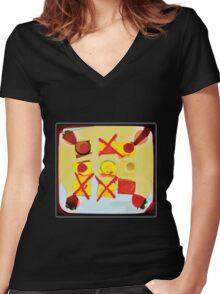arvo tea - tee Women's Fitted V-Neck T-Shirt