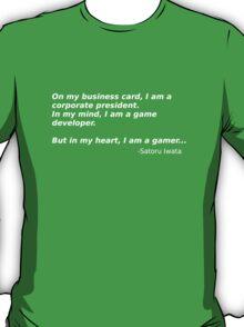 A quote from Satoru Iwata T-Shirt