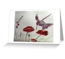poppyfield Greeting Card