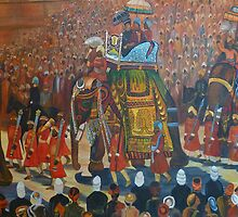 the grand procession by fehmida haider