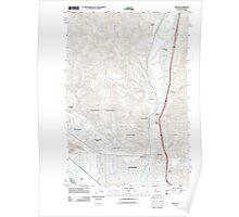 USGS Topo Map Washington Kelso 20110901 TM Poster