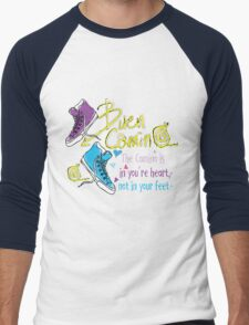 The camino is in you're heart Men's Baseball ¾ T-Shirt