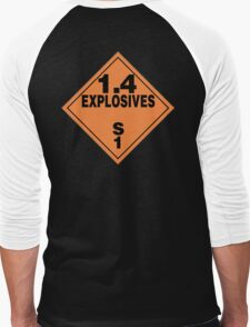 TDG Explosives Men's Baseball ¾ T-Shirt
