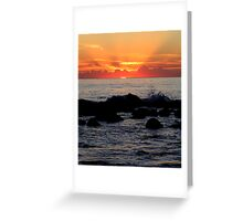 First Rays Greeting Card