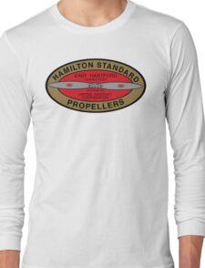 Hamilton Standard Logo Reproduction Long Sleeve T-Shirt