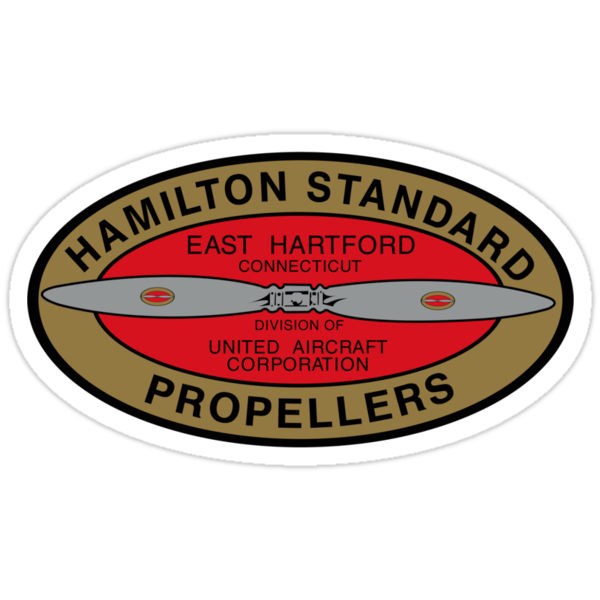 Hamilton Standard Logo Reproduction by warbirdwear