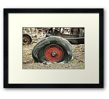 Only Flat On One Side Framed Print