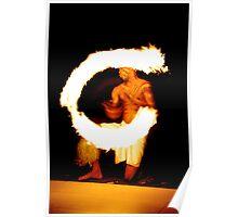 fijian firedancer Poster
