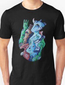 Psychedelic Animals Unisex T-Shirt